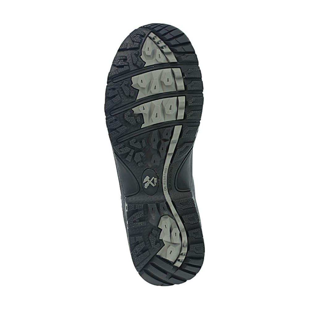 IRON AGE Men's Ground Finish Steel Toe 6 in. Sport Boots, Black - BLACK