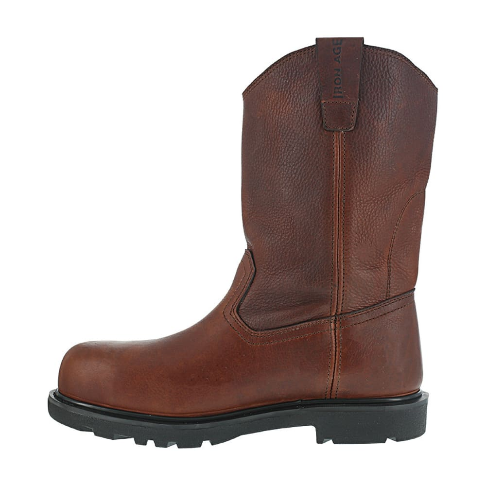 IRON AGE Men's Hauler Composite Toe 11 in. Wellington Boots, Brown - BROWN