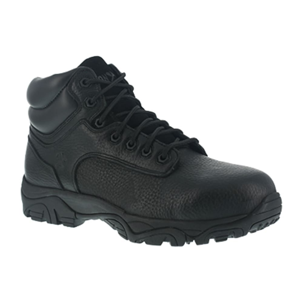 IRON AGE Women's Trencher Composite Toe 6 in. Work Boots, Black - BLACK
