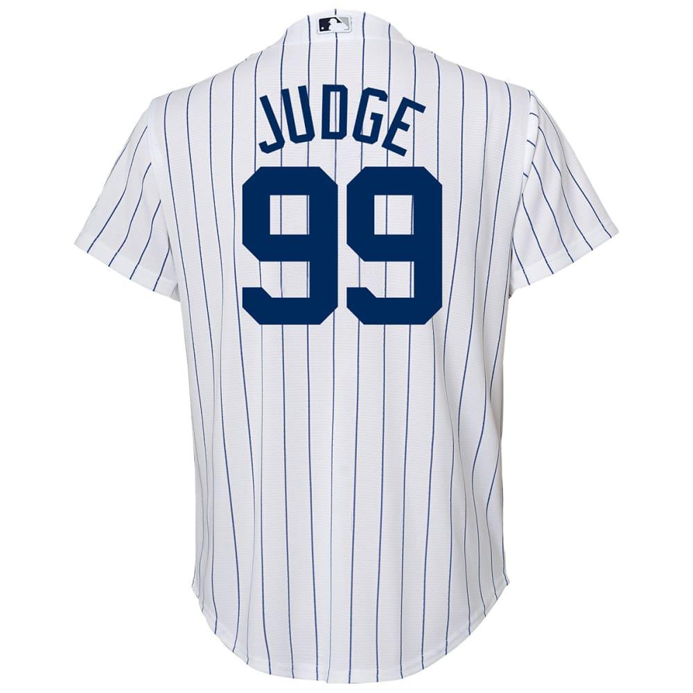NEW YORK YANKEES Boys' Aaron Judge 99 Player Replica Jersey - WHITE