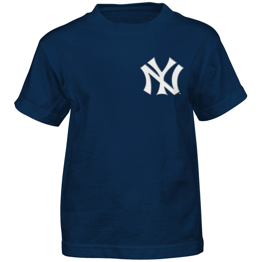 NEW YORK YANKEES Little Boys' Aaron Judge #99 Name and Number Short-Sleeve Tee - NAVY