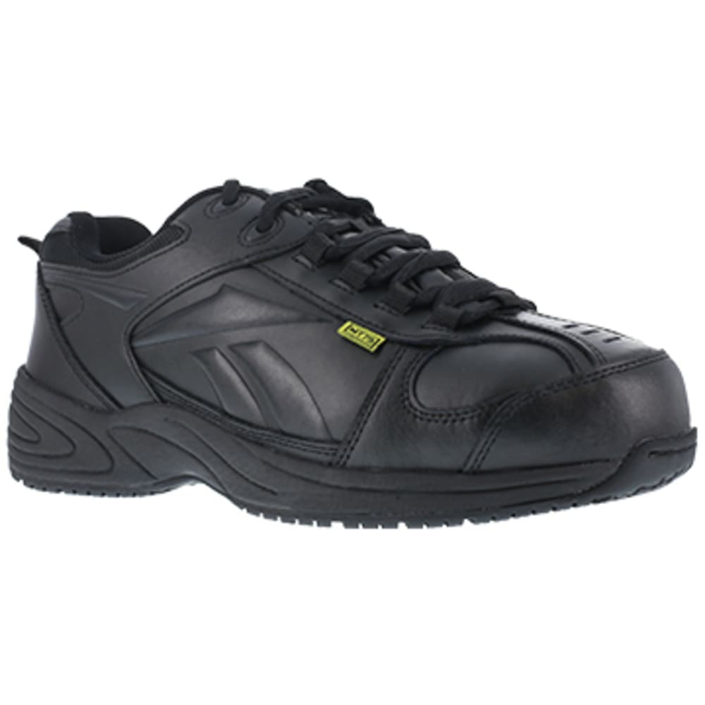 REEBOK WORK Men's Centose Composite Toe Street Sport Internal Met Guard Sneaker, Black - BLACK