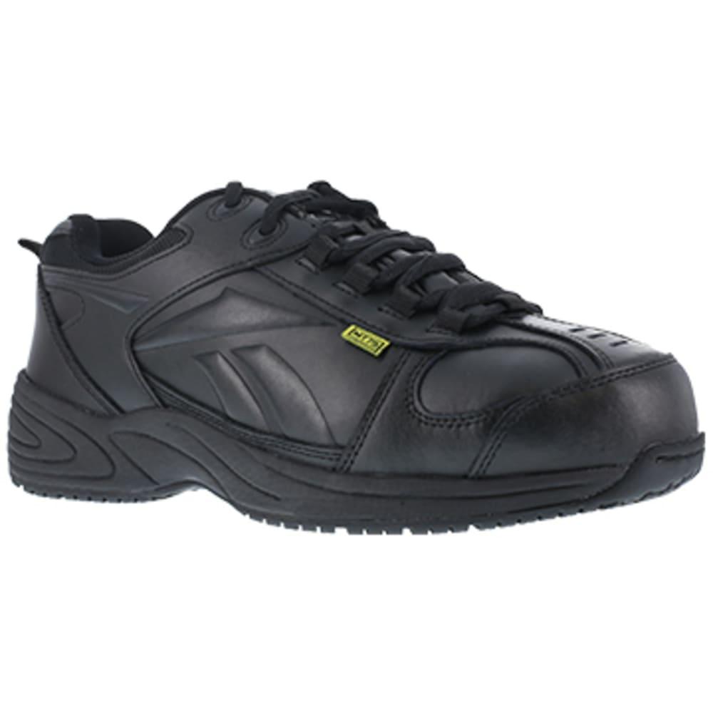 REEBOK WORK Men's Centose Composite Toe Street Sport Internal Met Guard Sneaker, Black - BLACK