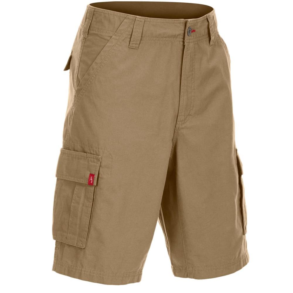 Ems Men's Dockworker Cargo Shorts - Brown, 38