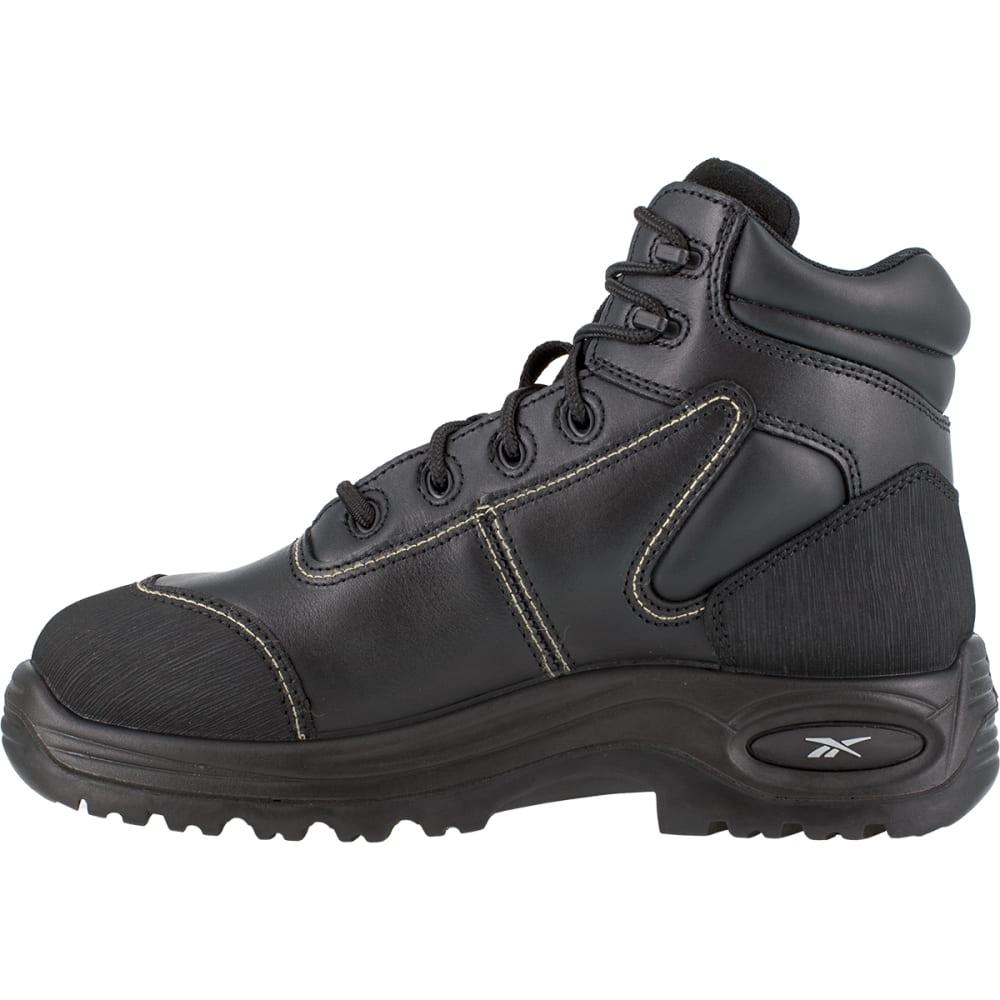 "REEBOK WORK Men's Trainex Composite Toe 6"" Internal Metatarsal Guard Boots - BLACK"