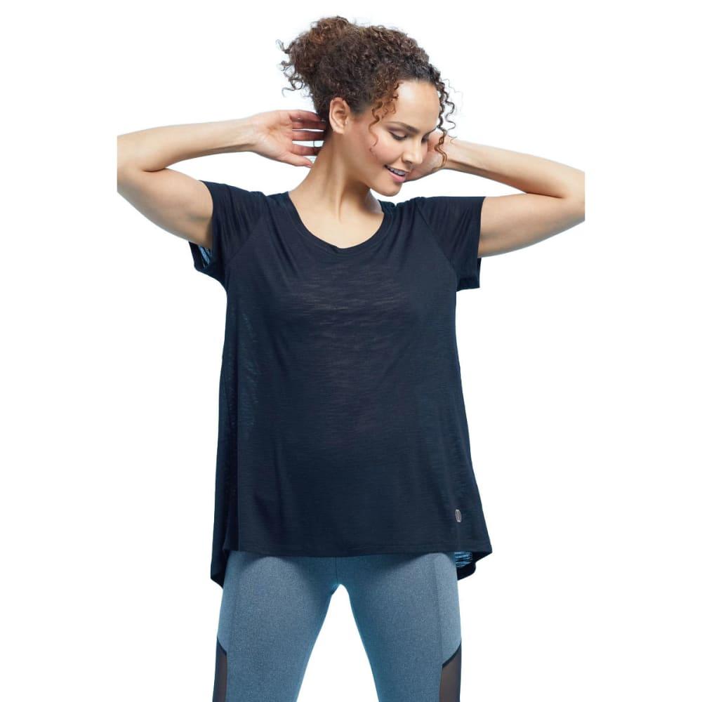 BALANCE COLLECTION BY MARIKA Women's Olive Short-Sleeve Tee - BLACK-001