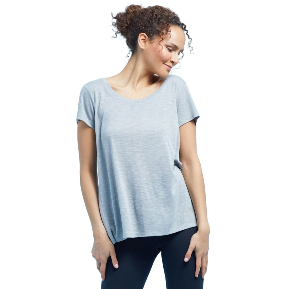 BALANCE COLLECTION BY MARIKA Women's Olive Short-Sleeve Tee S
