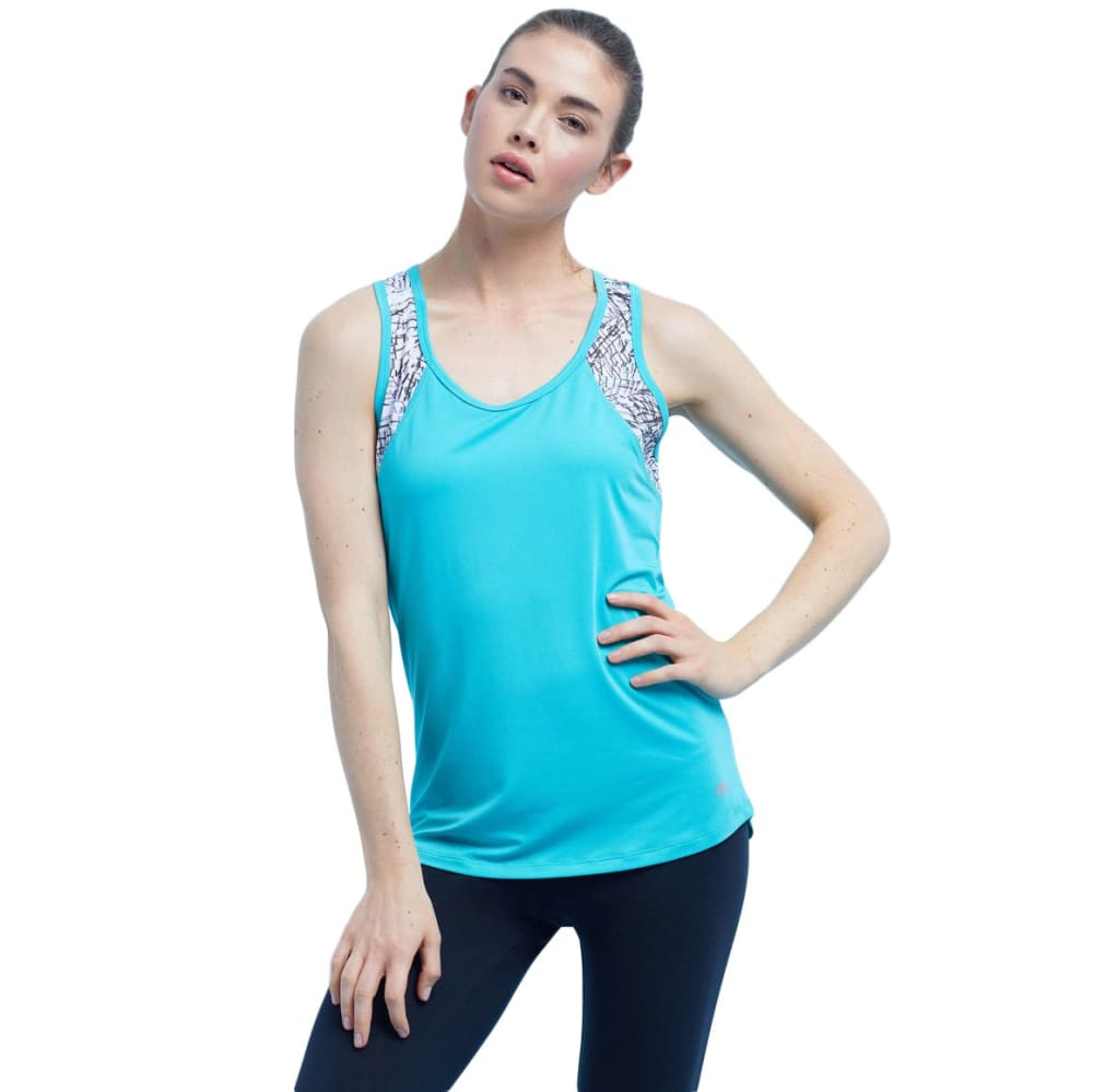 MARIKA Women's Palm Active Tank - VERIDIAN/PALMS-3H2