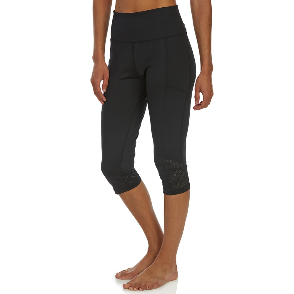 MARIKA Women's Ava Aeon Capri Leggings - BLACK-001