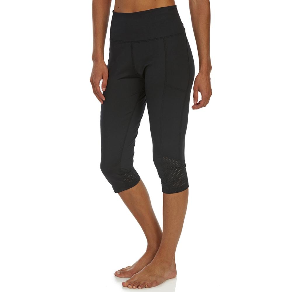 MARIKA Women's Ava Aeon Capri Leggings - BLACK-001