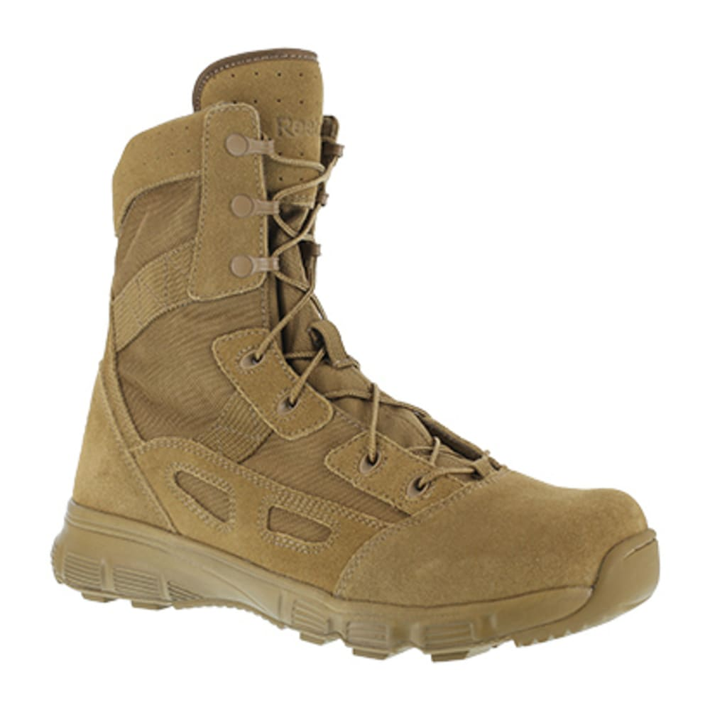 "REEBOK WORK Men's Hyper Velocity Soft Toe 8"" UltraLite Performance Boot, Coyote - COYOTE"