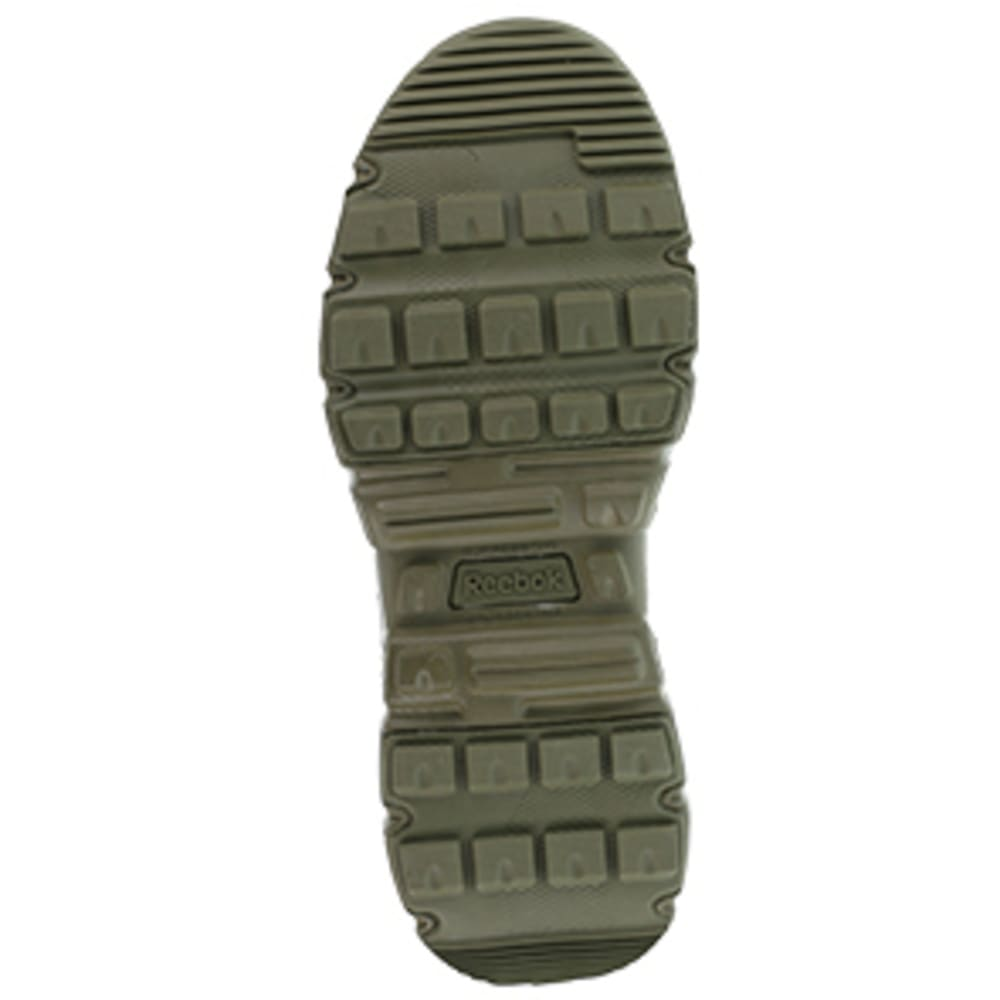 "REEBOK WORK Men's Dauntless Composite Toe 8"" W/ Side Zipper Tactical Boot, Sage Green - SAGE GREEN"