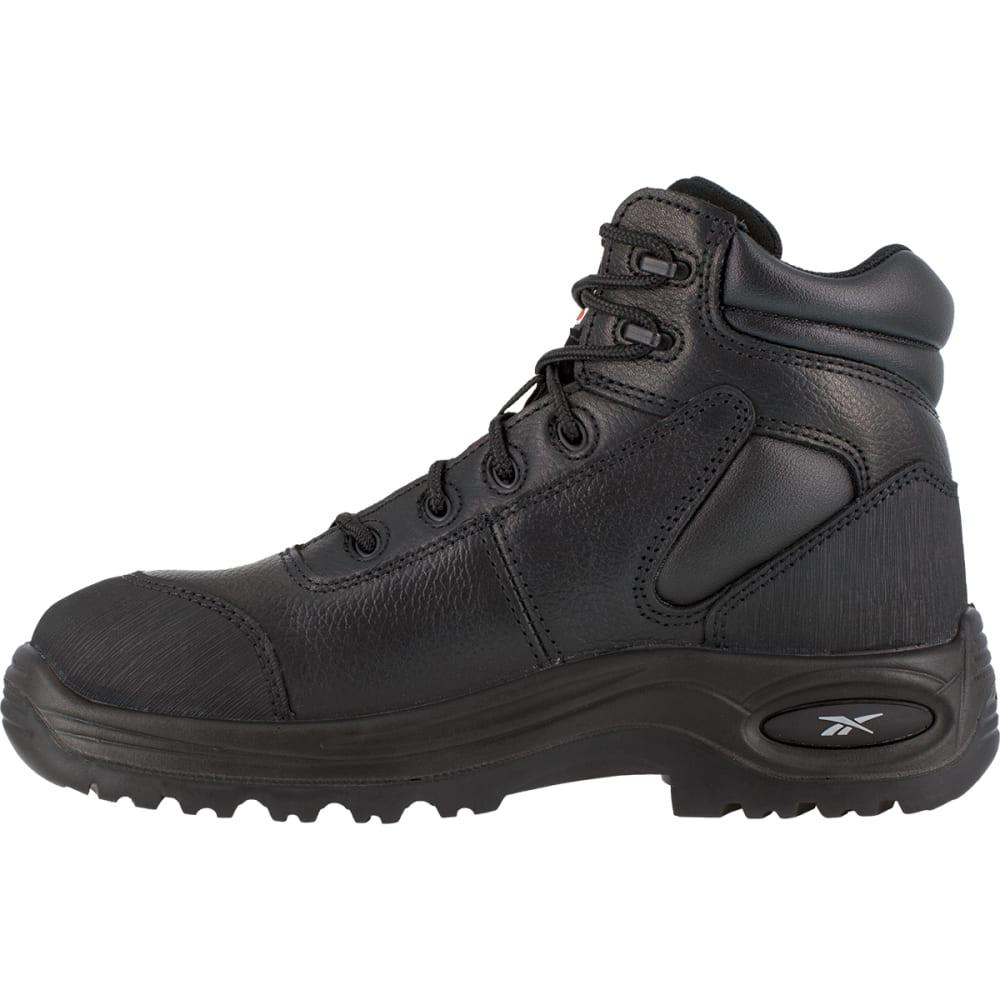 """REEBOK WORK Women's Trainex Composite Toe 6"""" Waterproof Puncture Resistant Sport Boots - BLACK"""