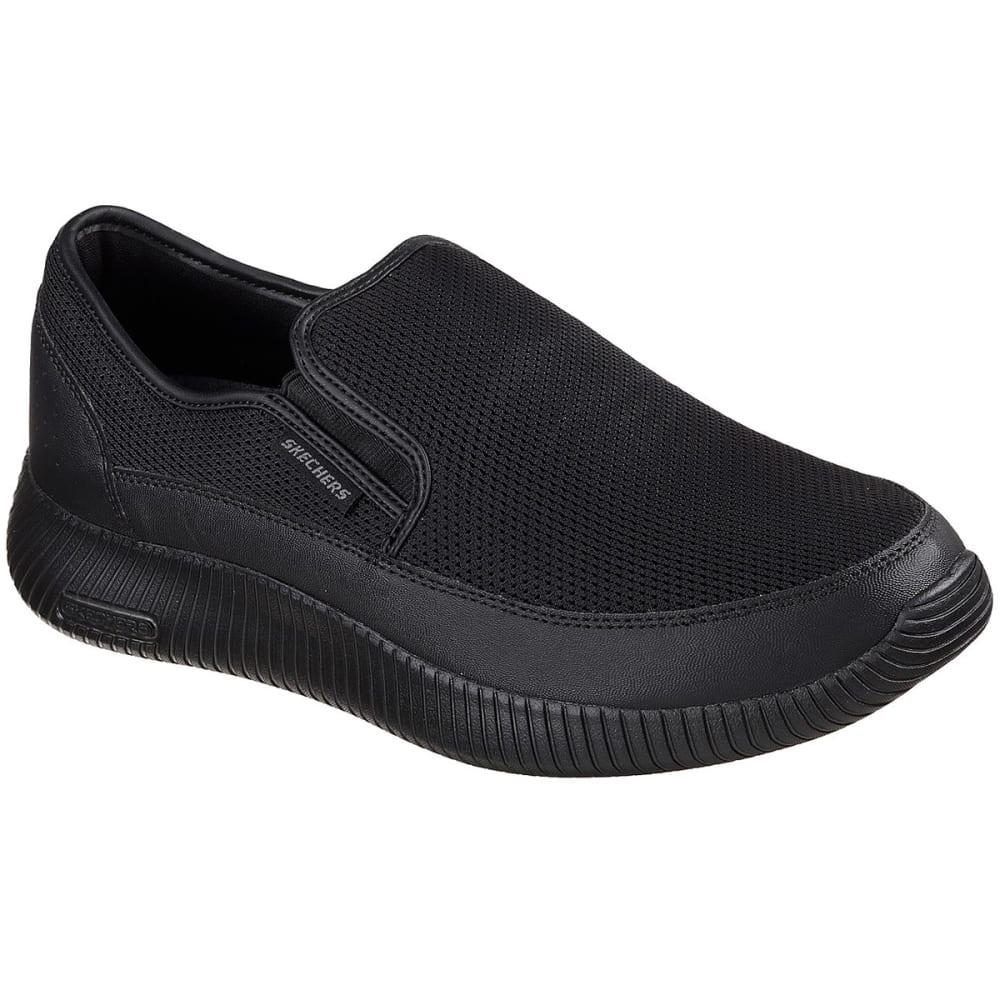 SKECHERS Men's Depth Charge Flish Walking Shoes - BLACK-BBK