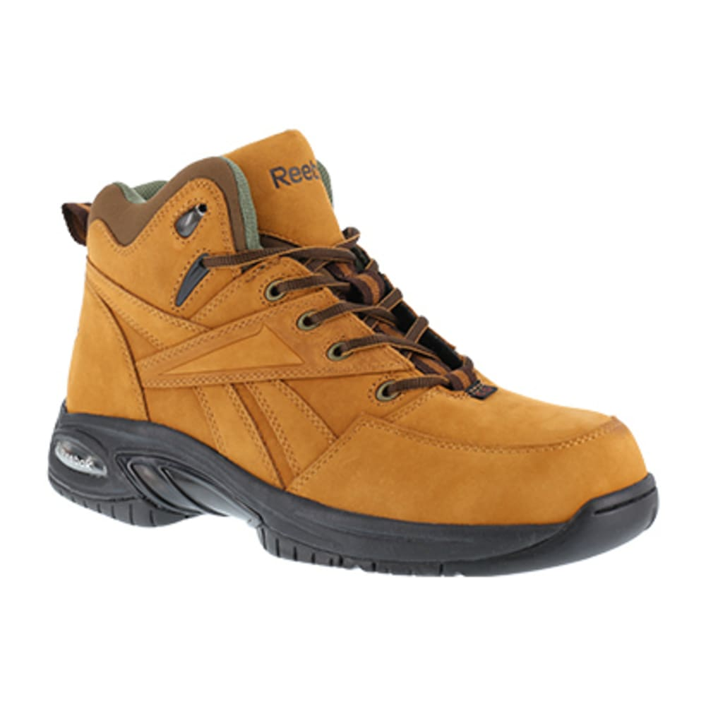 REEBOK WORK Women's Tyak Composite Toe Classic Performance Hiker, Golden Tan 6