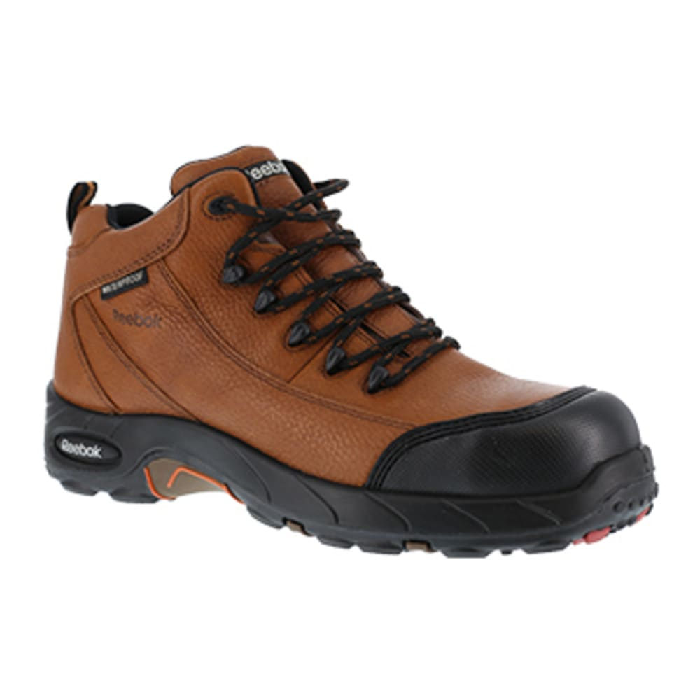 REEBOK WORK Women's Tiahawk Composite Toe Waterproof Sport Hiker, Brown 7