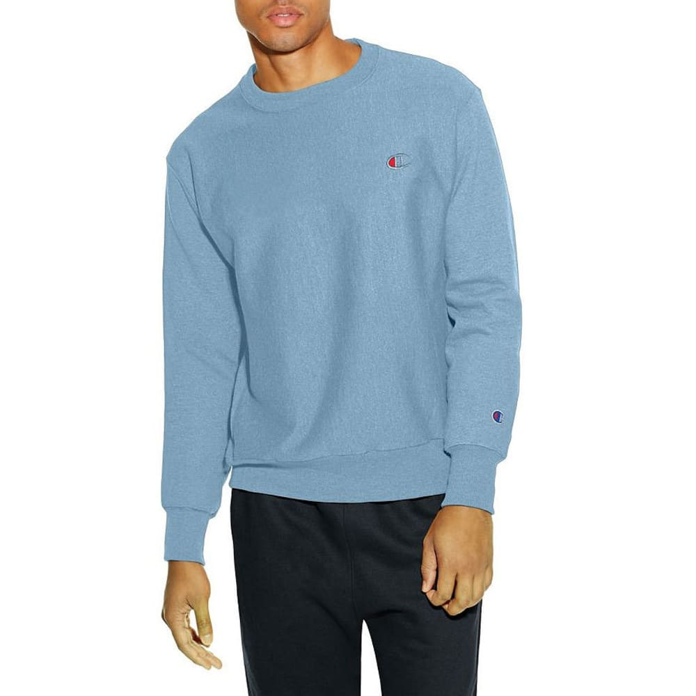 CHAMPION Men's Reverse Weave Pigment-Dyed Sweatshirt - UPSTATE BLUE-12S