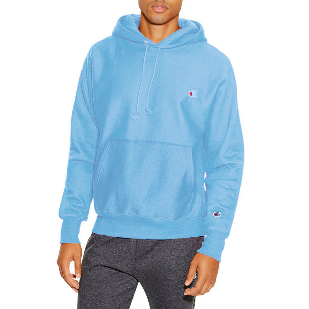 Champion Men's Pfd Reverse Weave Pullover Hoodie - Blue, S
