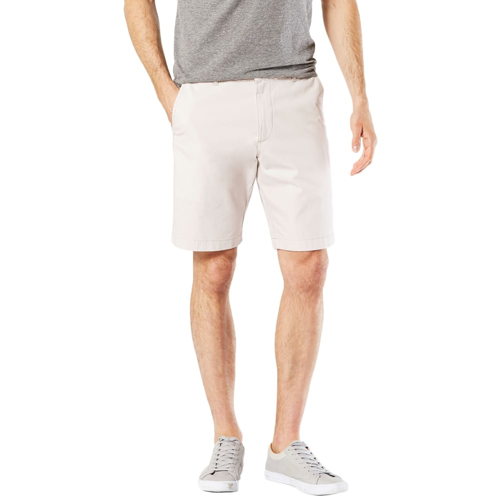 DOCKERS Men's D1 Stretch Slim Fit Shorts - MARBLE-0001
