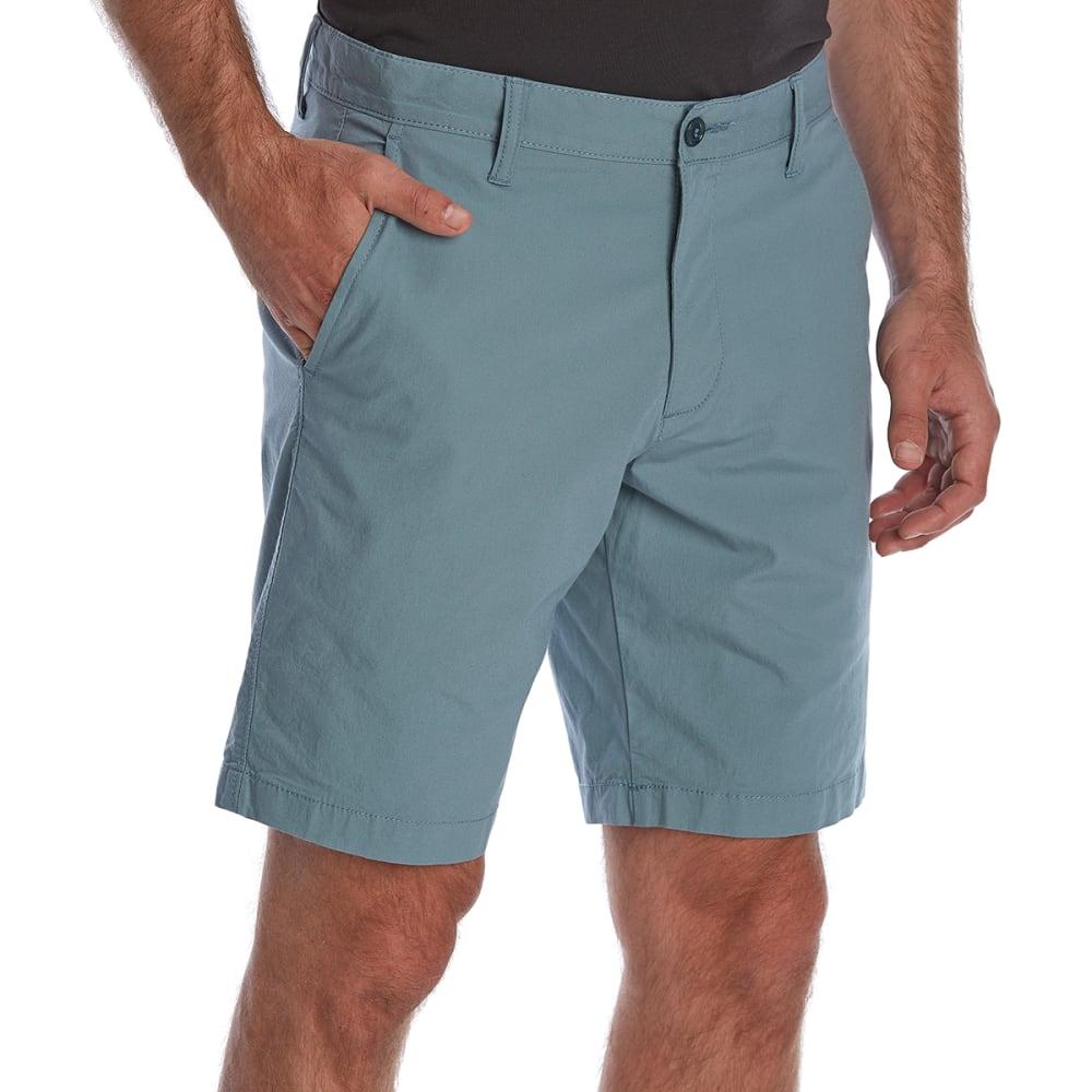 Dockers Men's D1 Stretch Slim Fit Shorts - Blue, 34