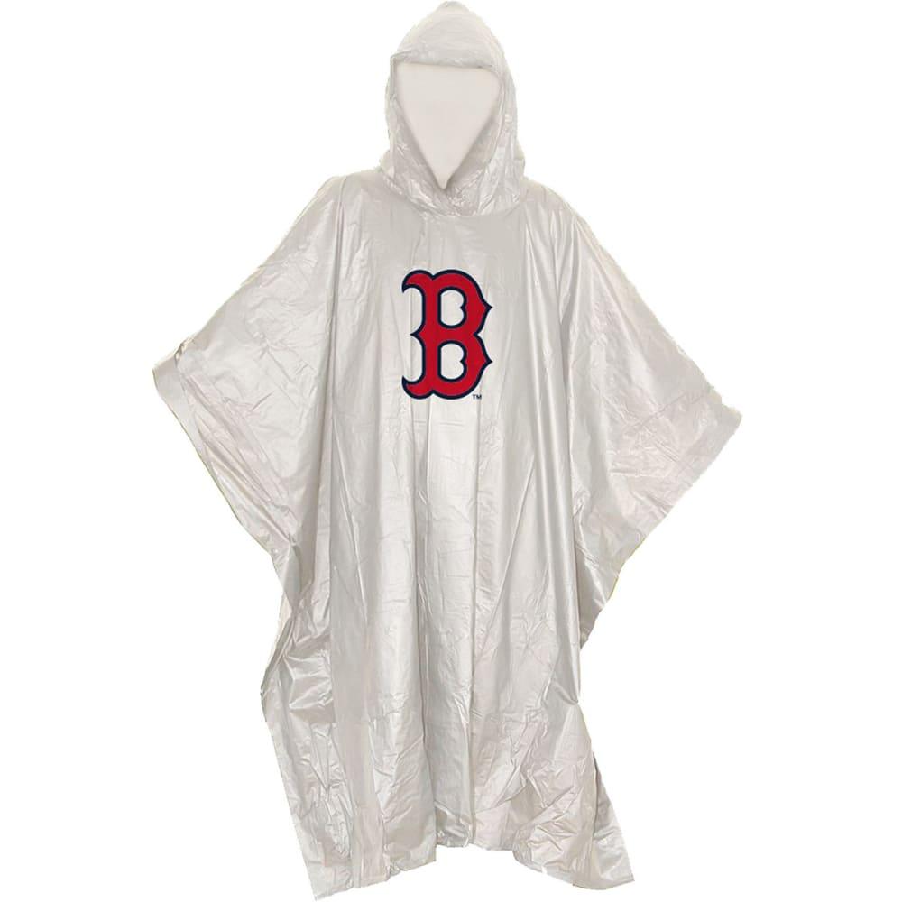 BOSTON RED SOX Clear Rain Poncho - NO COLOR
