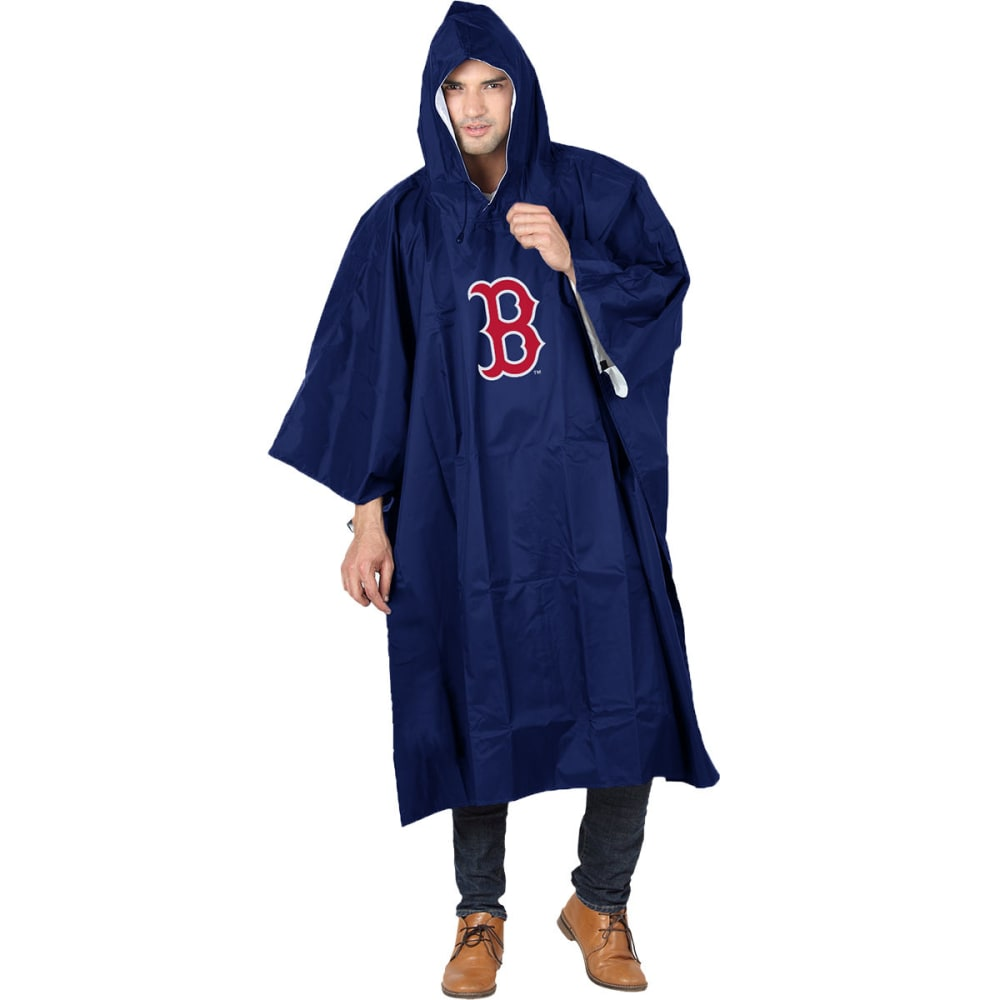 BOSTON RED SOX Rain Poncho - NAVY