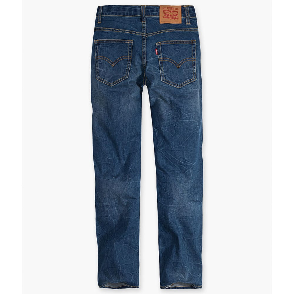 LEVI'S Big Boys' 502 Regular Taper Fit Jeans - WASHED UP-M4X