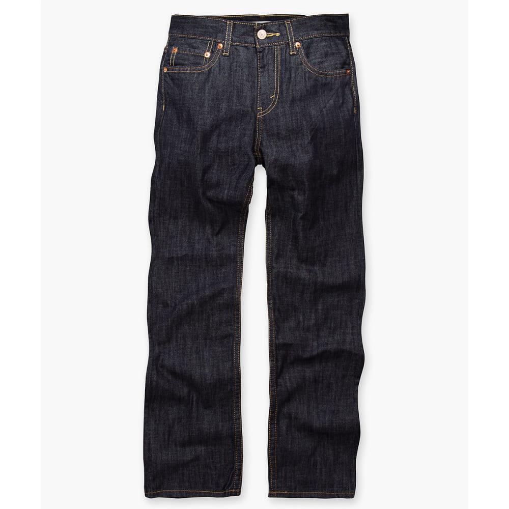 LEVI'S Big Boys' 514 Slim Straight Husky Jeans 8