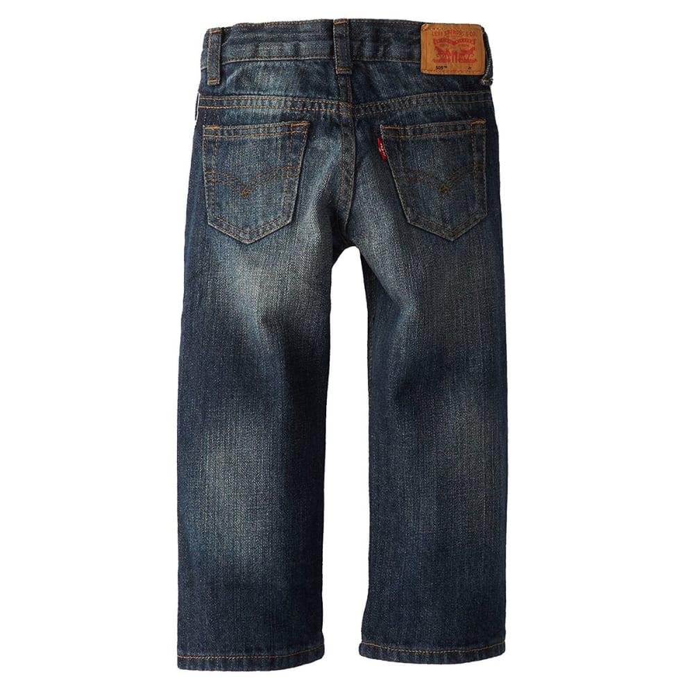 "LEVI'S Little Boys' 505""¢ Straight Fit Jeans - ROADIE-778"