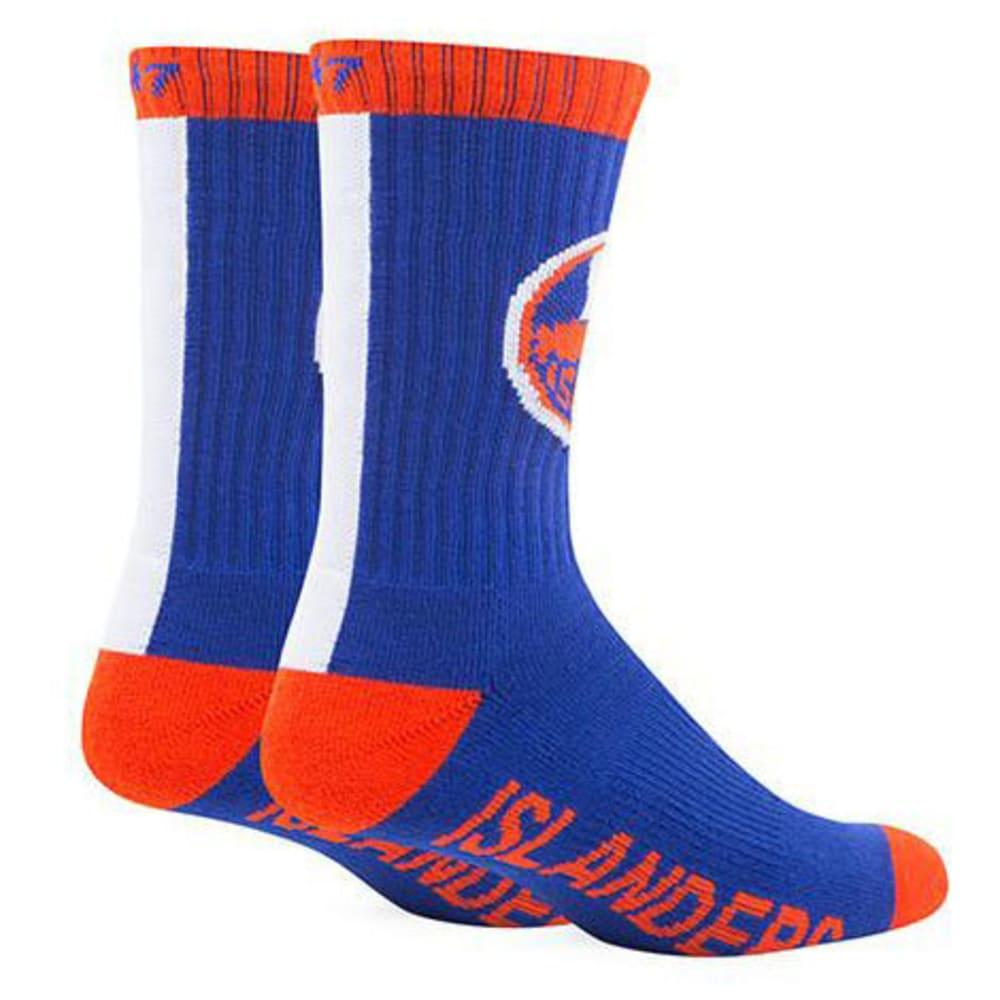 NEW YORK ISLANDERS '47 Bolt Crew Socks - ROYAL BLUE