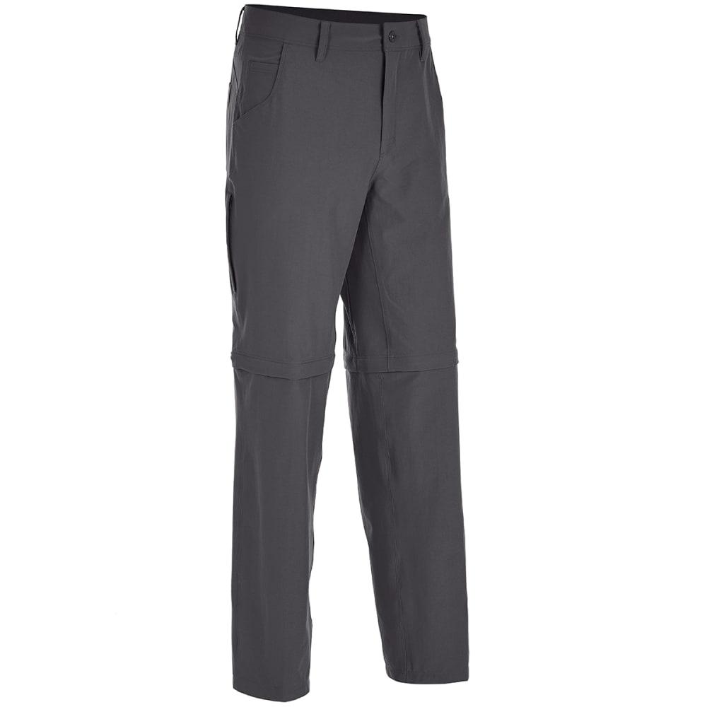 Ems Men's Go East Zip-Off Pants - Black, 30/30