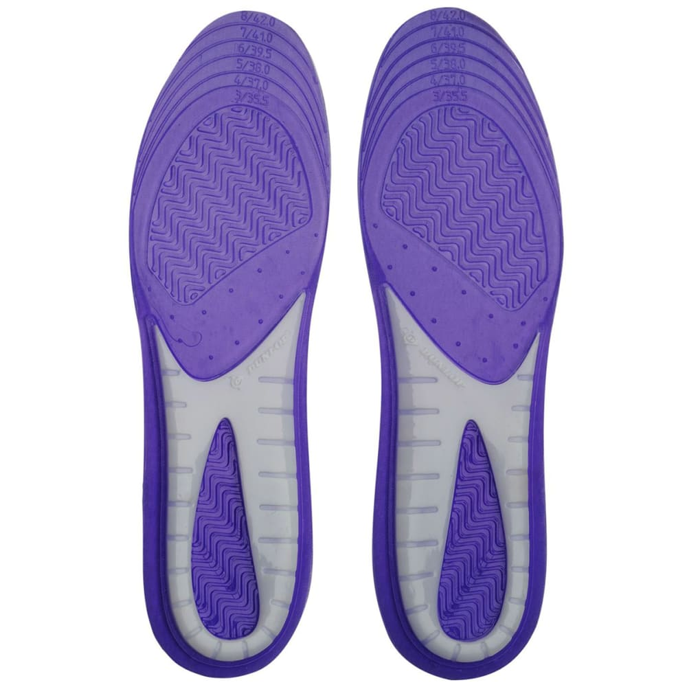 DUNLOP Women's Perforated Gel Insoles ONE SIZE