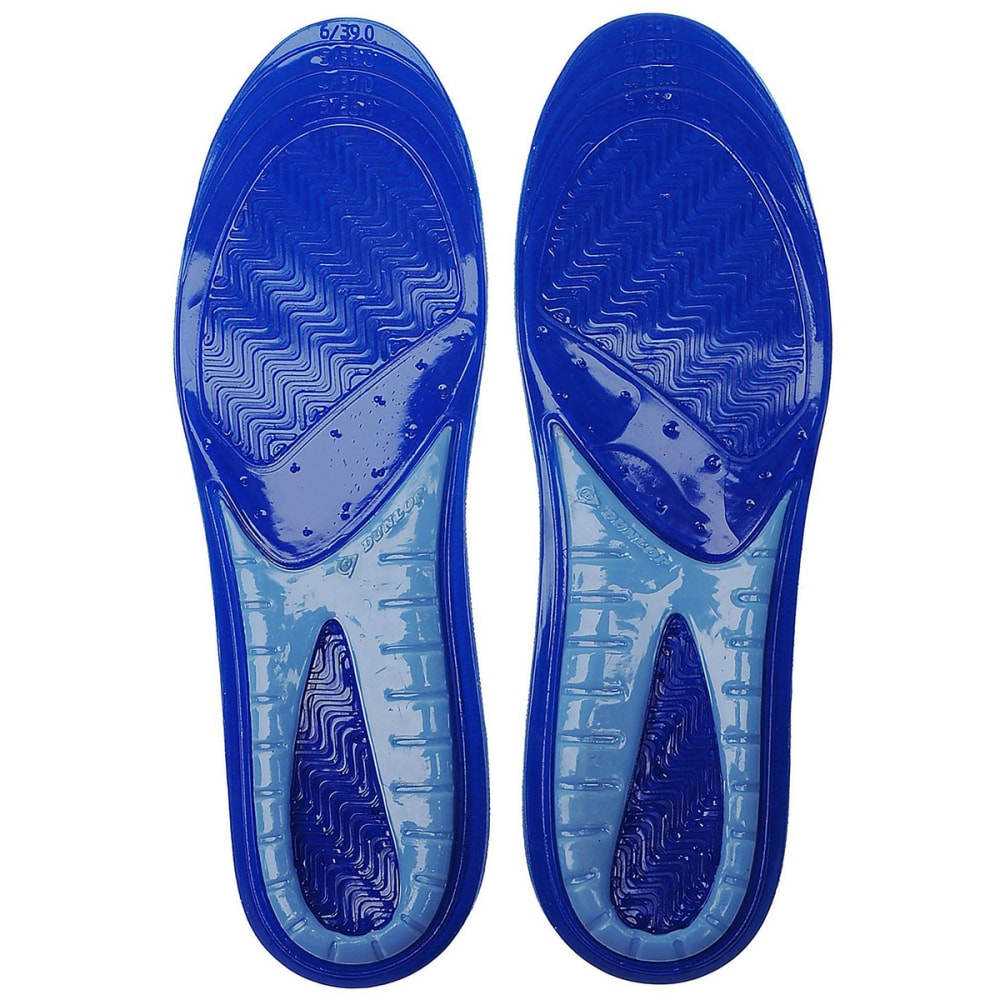 DUNLOP Big Kids' Perforated Gel Insoles - BLUE