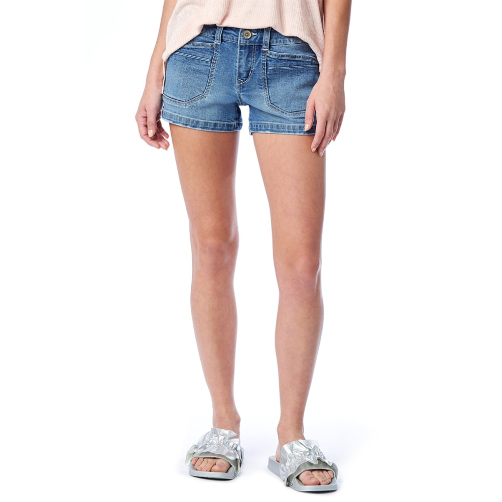UNIONBAY Juniors' Delaney Denim Shorts - 921J-WHAM