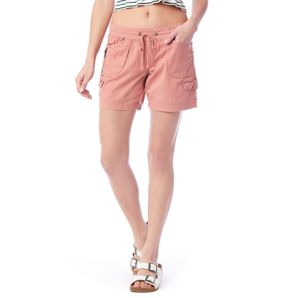 UNIONBAY Juniors' Christy Convertible Knit-Waist Shorts XS