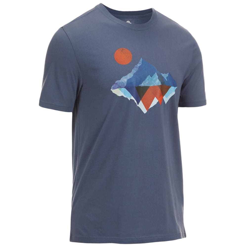 EMS Men's Mirror Mountain Graphic Tee - VINTAGE INDIGO