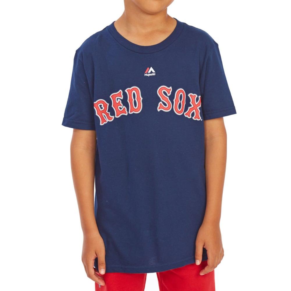BOSTON RED SOX Big Boys' Andrew Benintendi #16 Name and Number Short-Sleeve Tee - NAVY