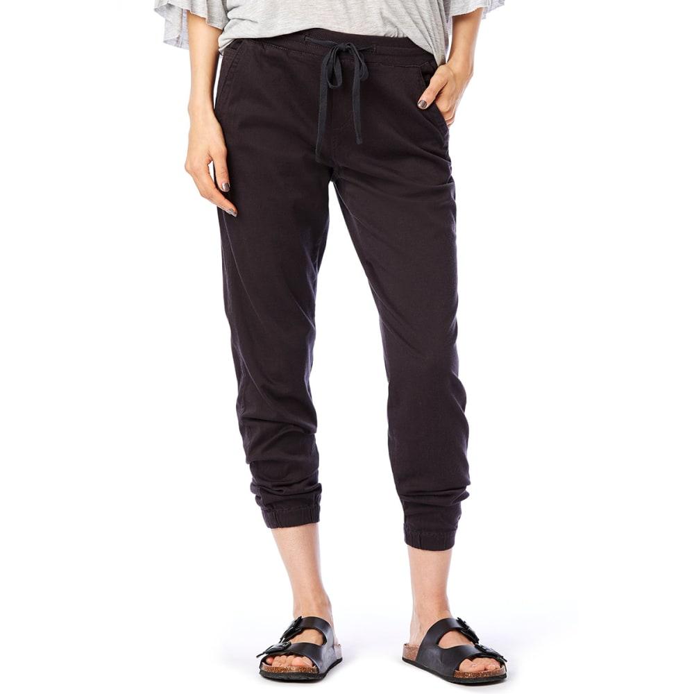 SUPPLIES BY UNIONBAY Women's Ashbey Sateen Jogger Pants - 069J-DRK GALAXY GREY