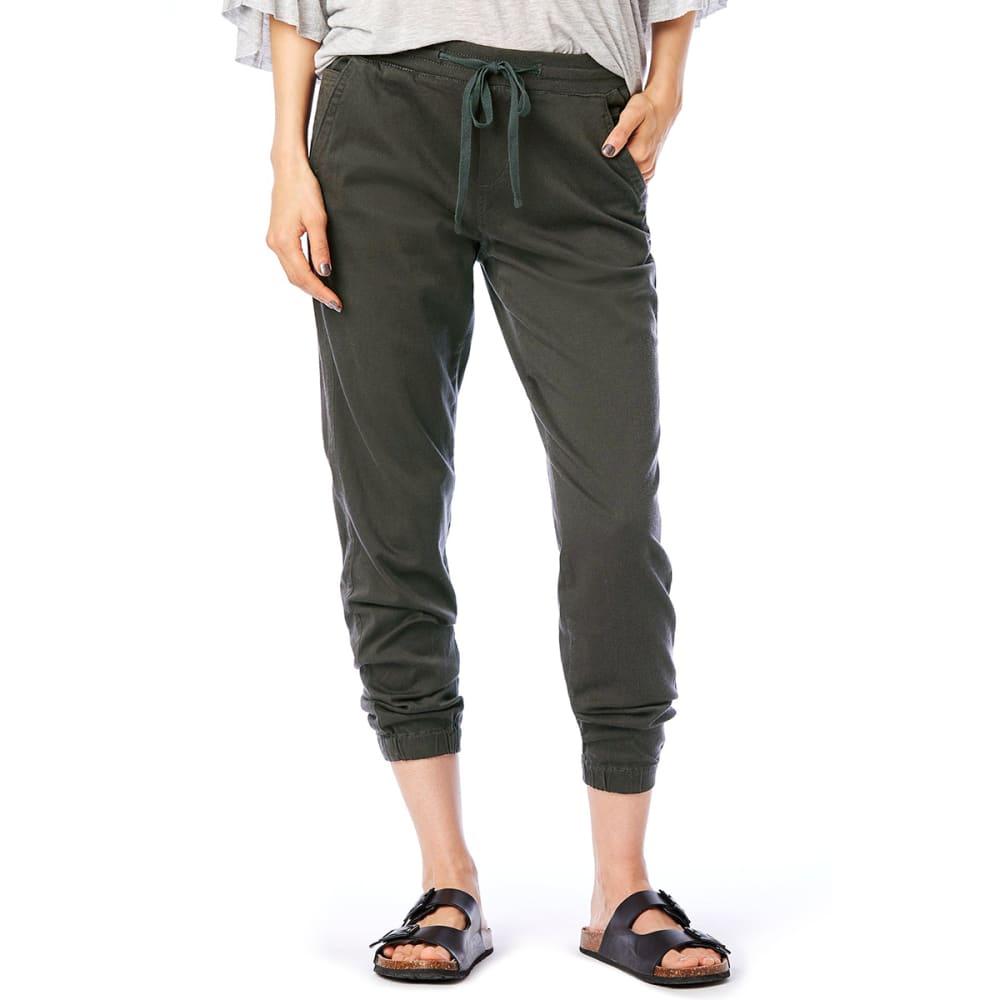SUPPLIES BY UNIONBAY Women's Ashbey Sateen Jogger Pants - 339J-FATIGUE GREEN