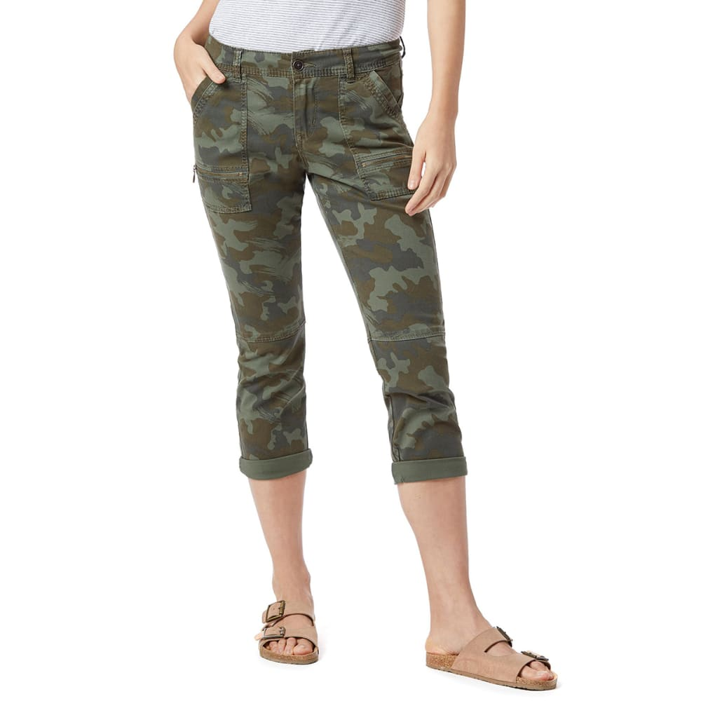 SUPPLIES BY UNIONBAY Women's Norma Camo Crop Pants 10