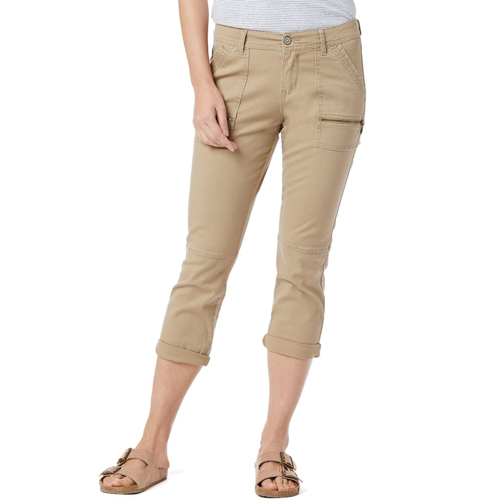 SUPPLIES BY UNIONBAY Women's Norma Crop Pants 8