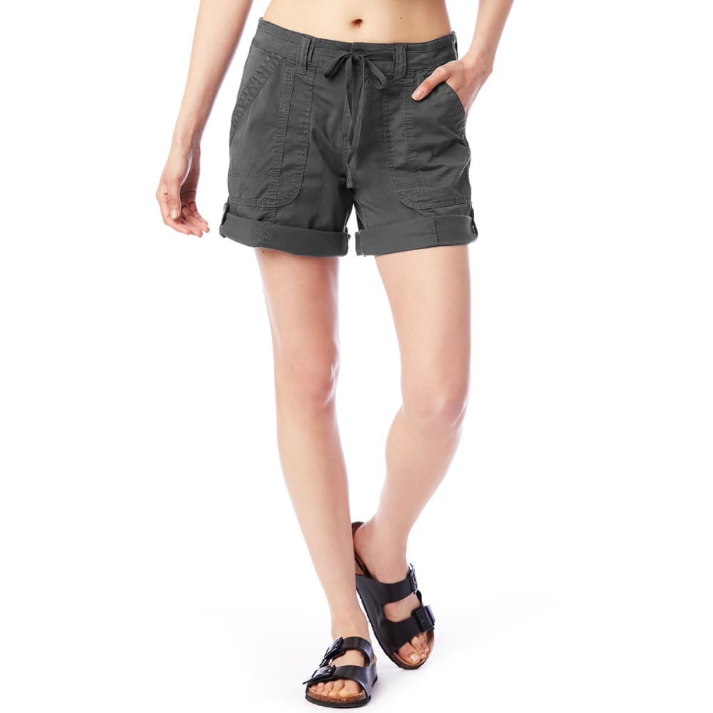SUPPLIES BY UNIONBAY Women's Marty Convertible Shorts - 056J-LT GALAXY GRY
