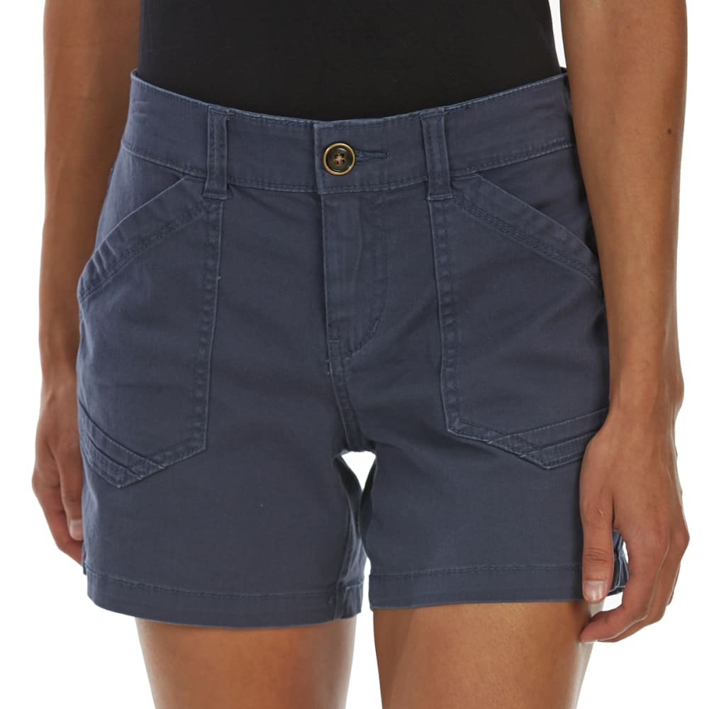 SUPPLIES BY UNIONBAY Women's 5 in. Alix Solid Shorts - 439J-VINTAGE INDIGO