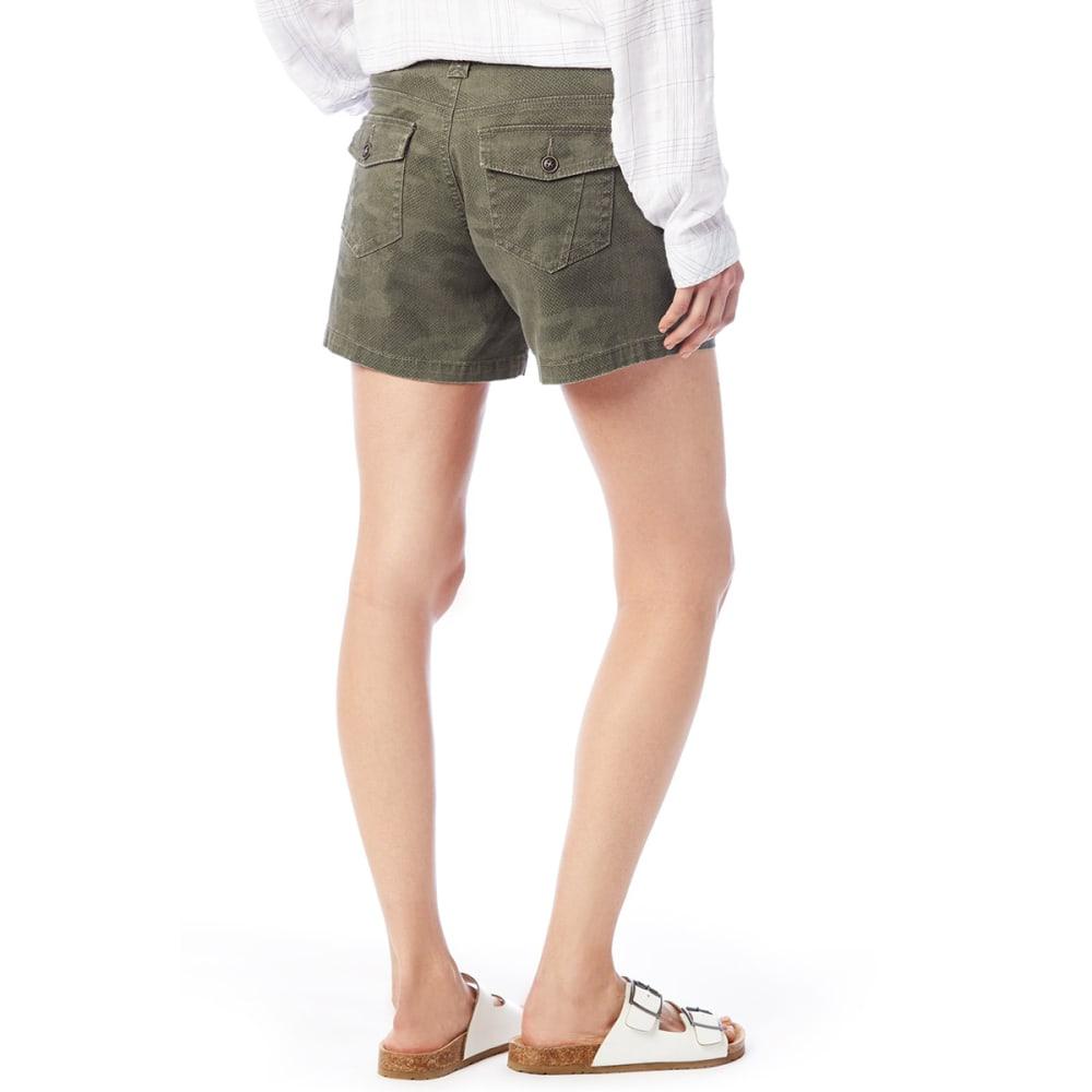 SUPPLIES BY UNIONBAY Women's 5 in. Alix Camo Shorts - 282J-GREEK OLIVE