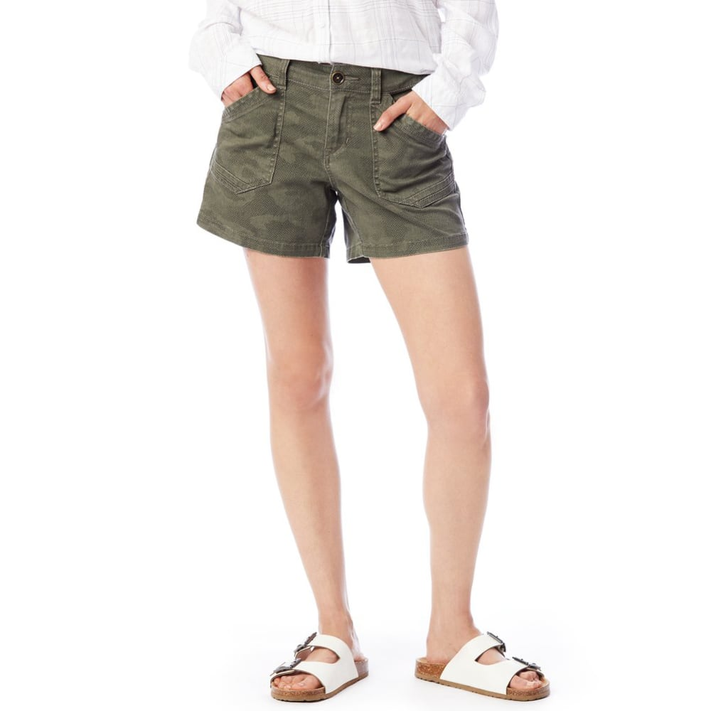 SUPPLIES BY UNIONBAY Women's 5 in. Alix Camo Shorts 4