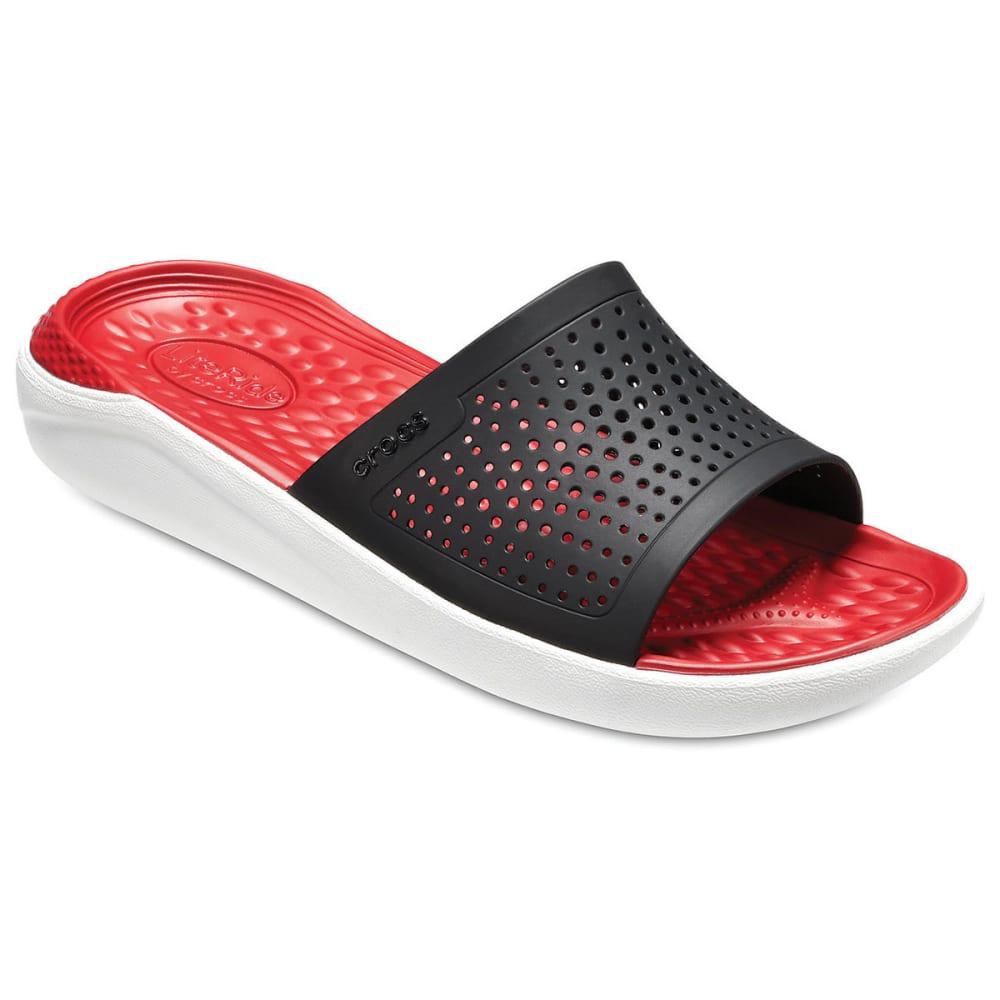 Crocs Unisex Literide Slide Sandals - White, 4
