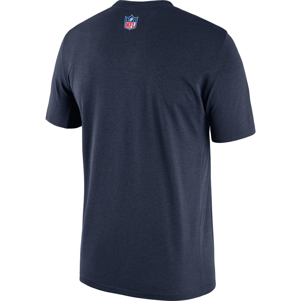 DALLAS COWBOYS Men's Nike Legend Short-Sleeve Tee - NAVY