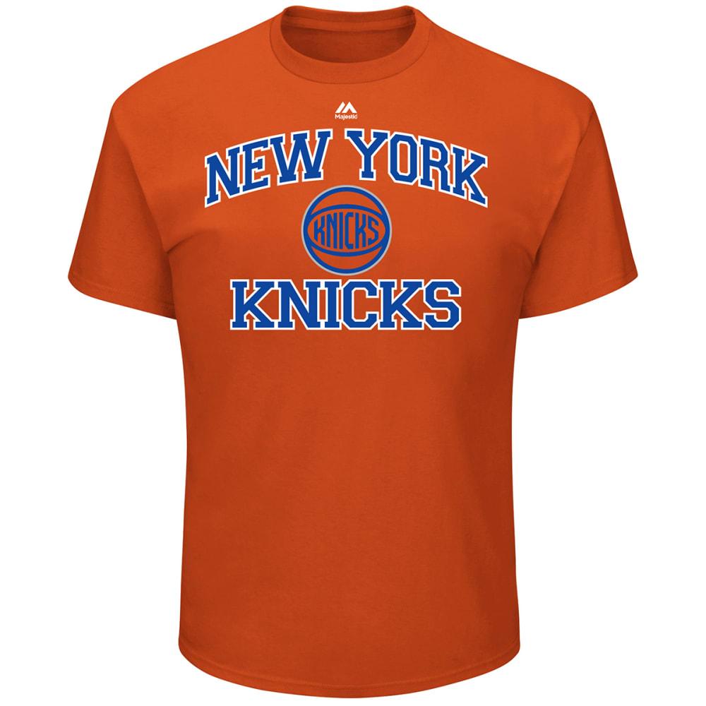 NEW YORK KNICKS Men's Heart and Soul Short-Sleeve Tee - ORANGE