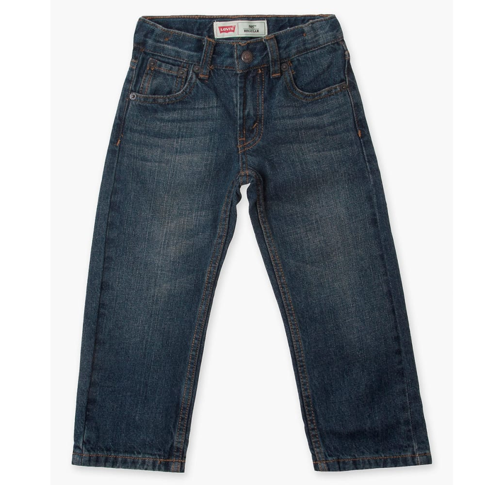 LEVI'S Toddler Boys' 505 Straight Fit Jeans 3T