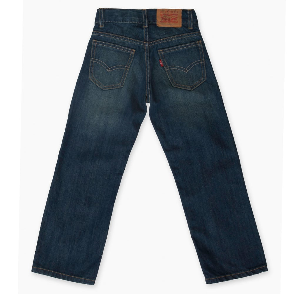 LEVI'S Toddler Boys' 505 Straight Fit Jeans - CASH-M57